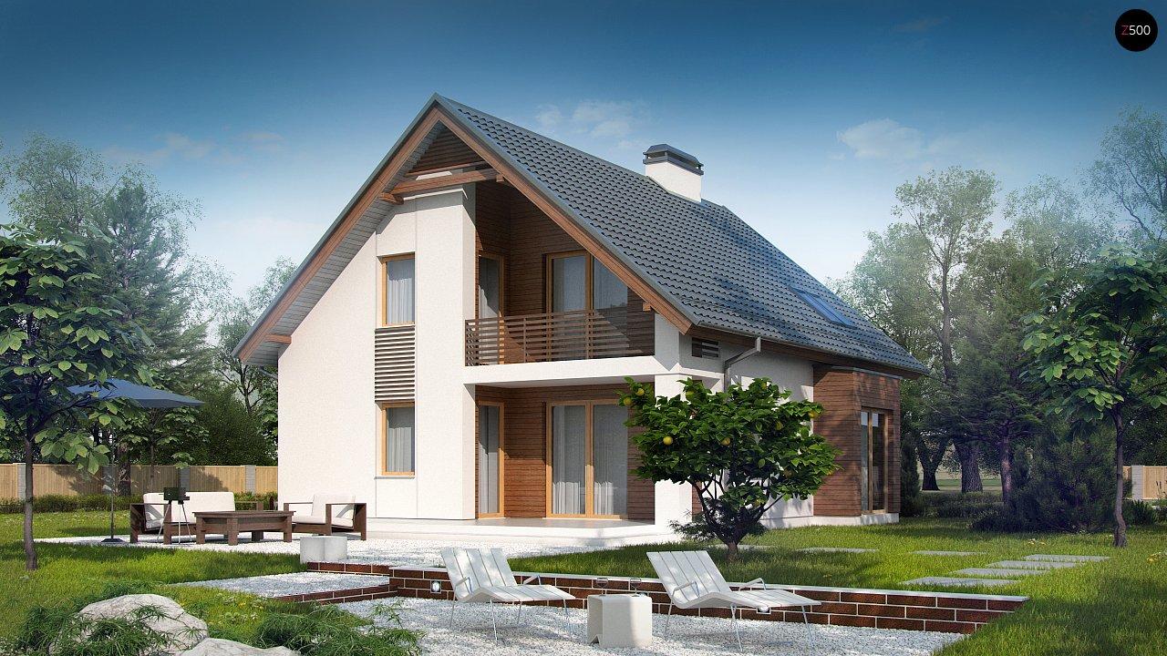 Проект будинку Z166 - 1