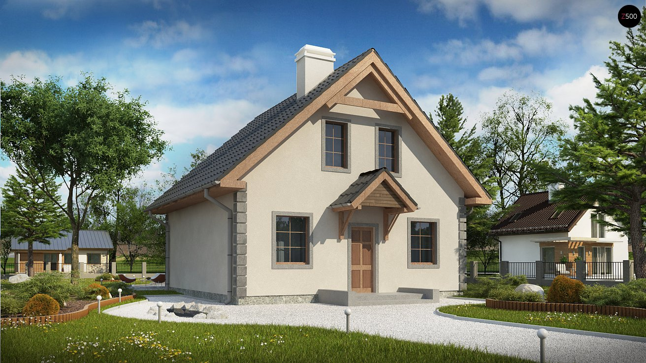 Проект будинку Z1 bl - 1