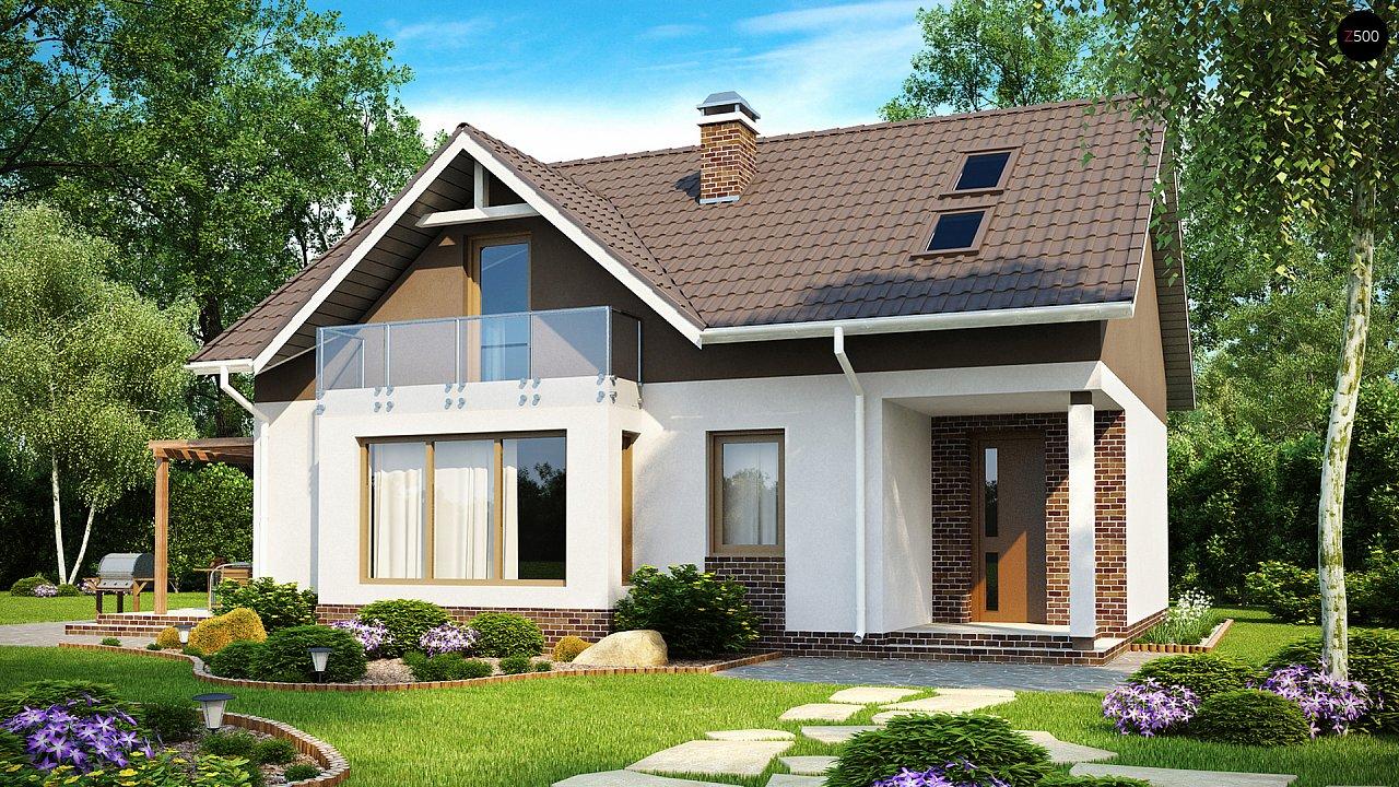 Проект будинку Z128 - 1