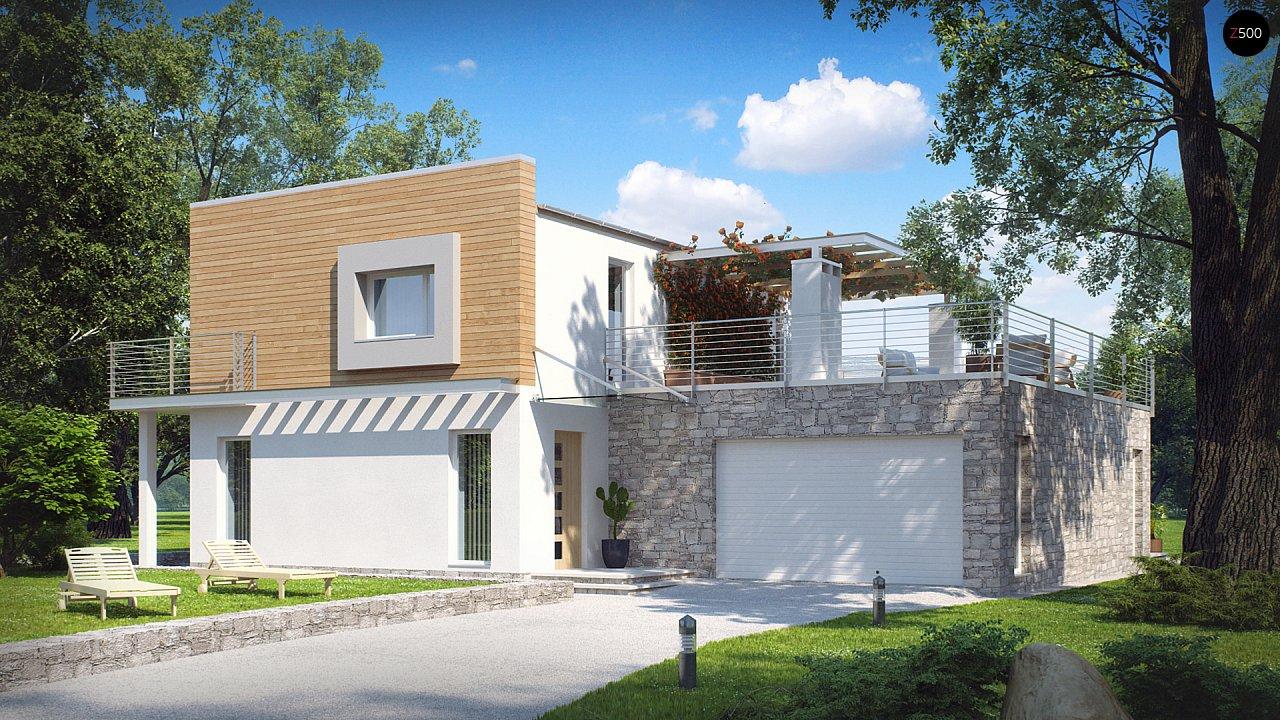 Проект будинку Zx3 - 1