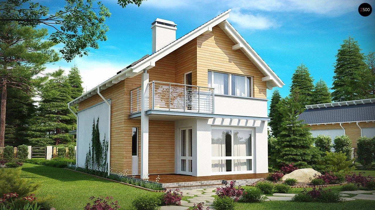 Проект будинку Z137 - 1