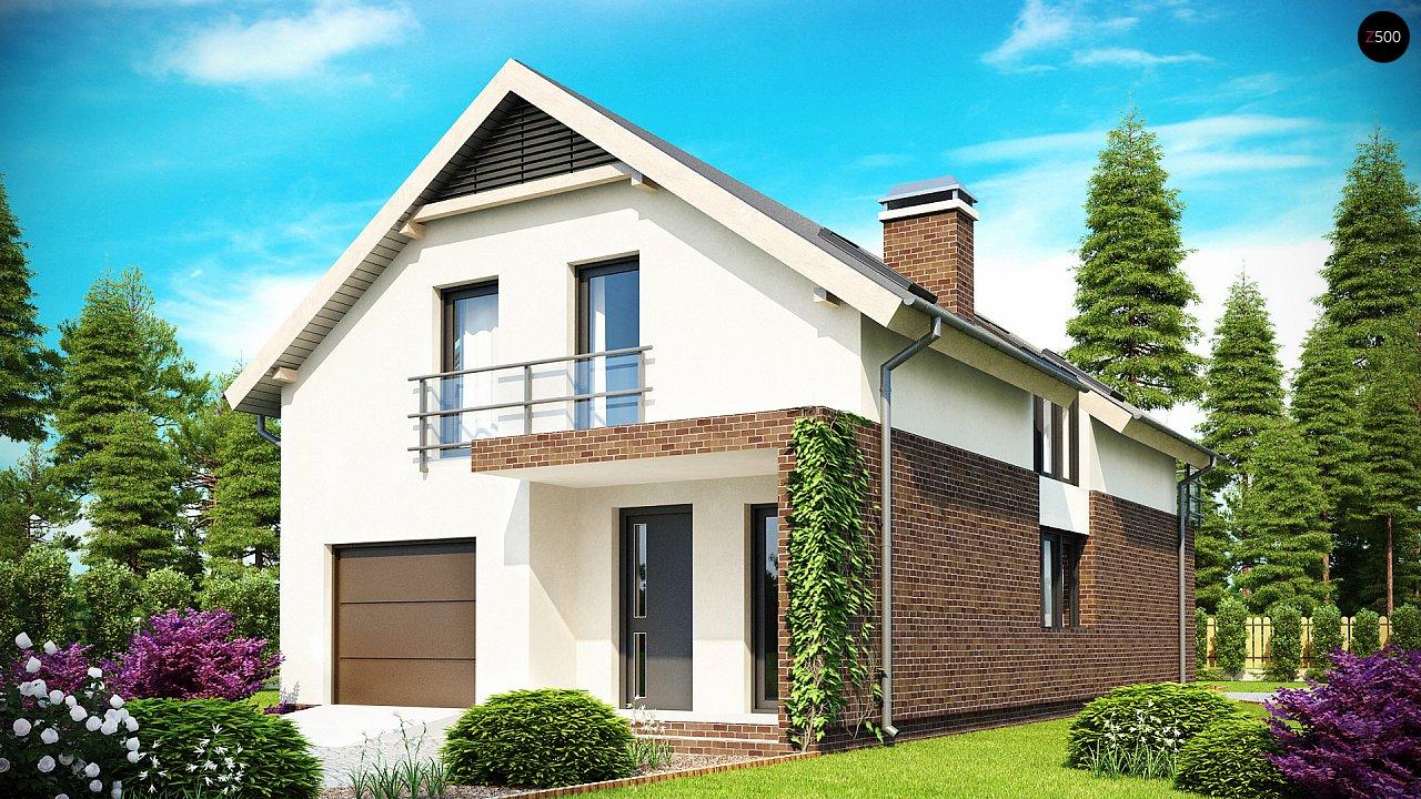 Проект будинку Z154 - 1