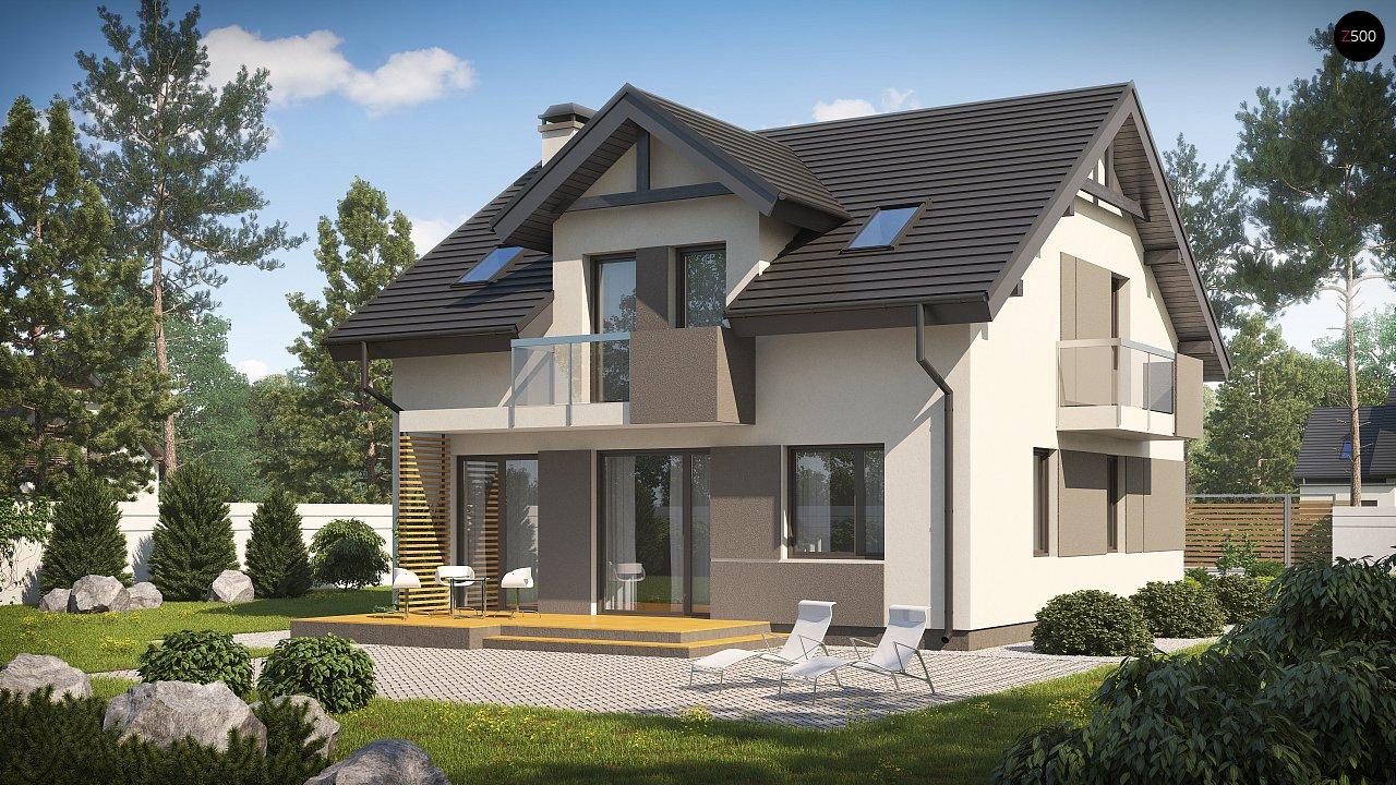 Проект будинку Z65 v2 - 1