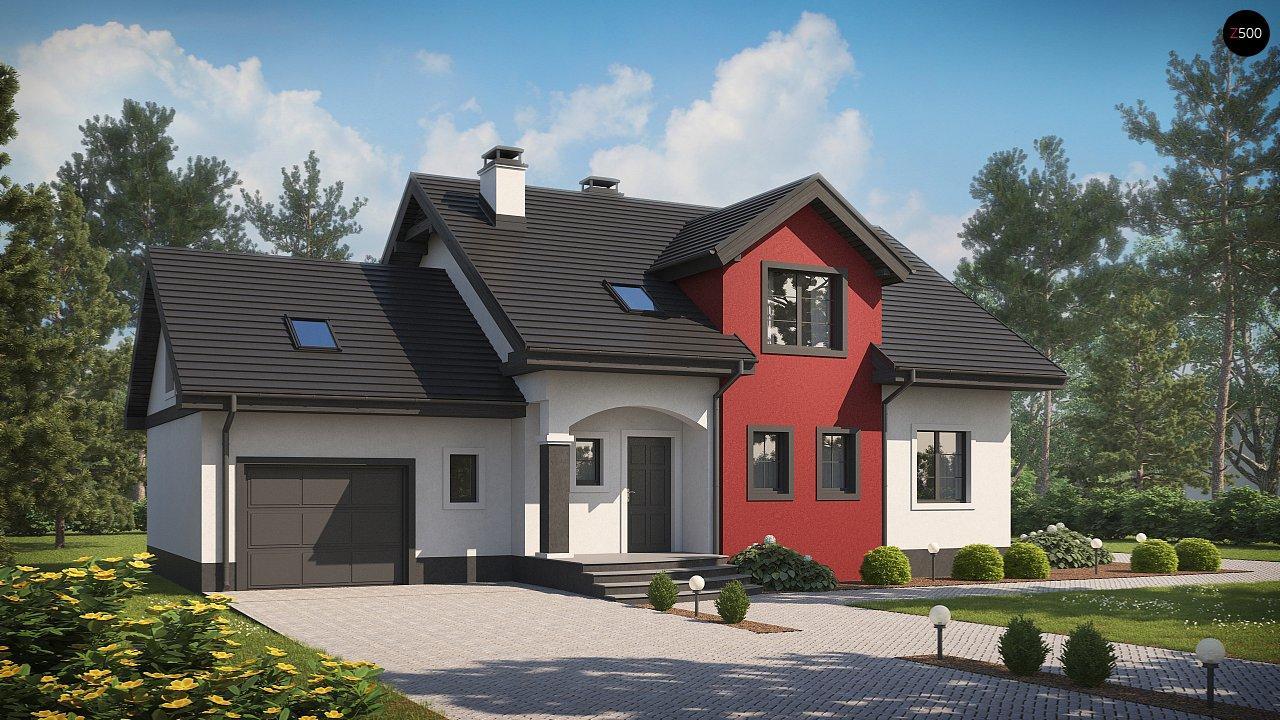 Проект будинку Z28 GL - 1