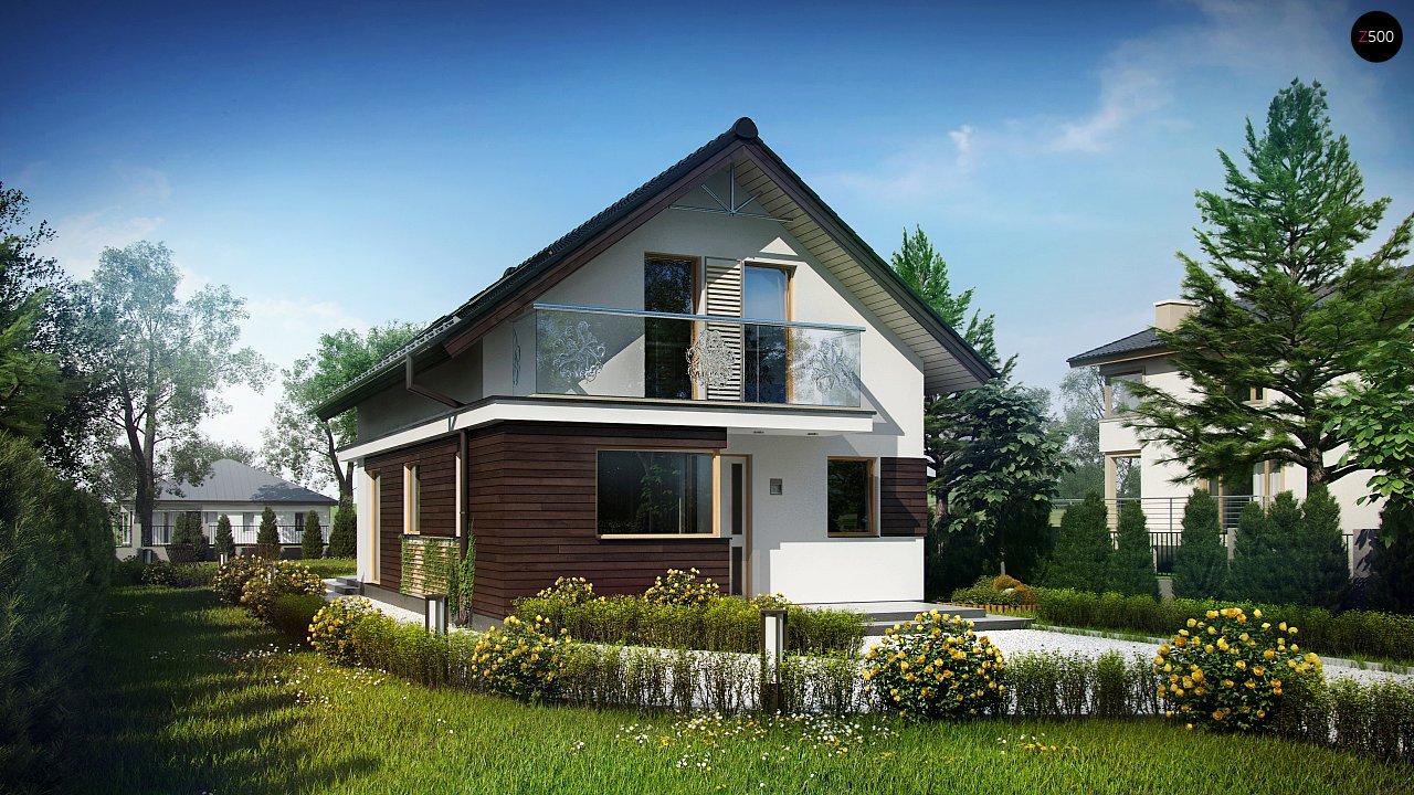 Проект будинку Z296 - 1