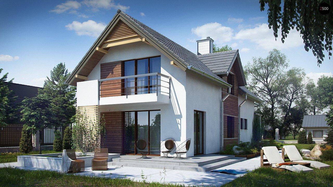 Проект будинку Z293 - 1