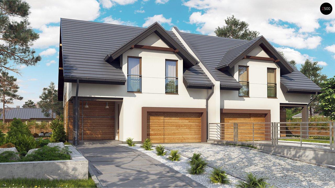 Проект будинку Zb12 - 1