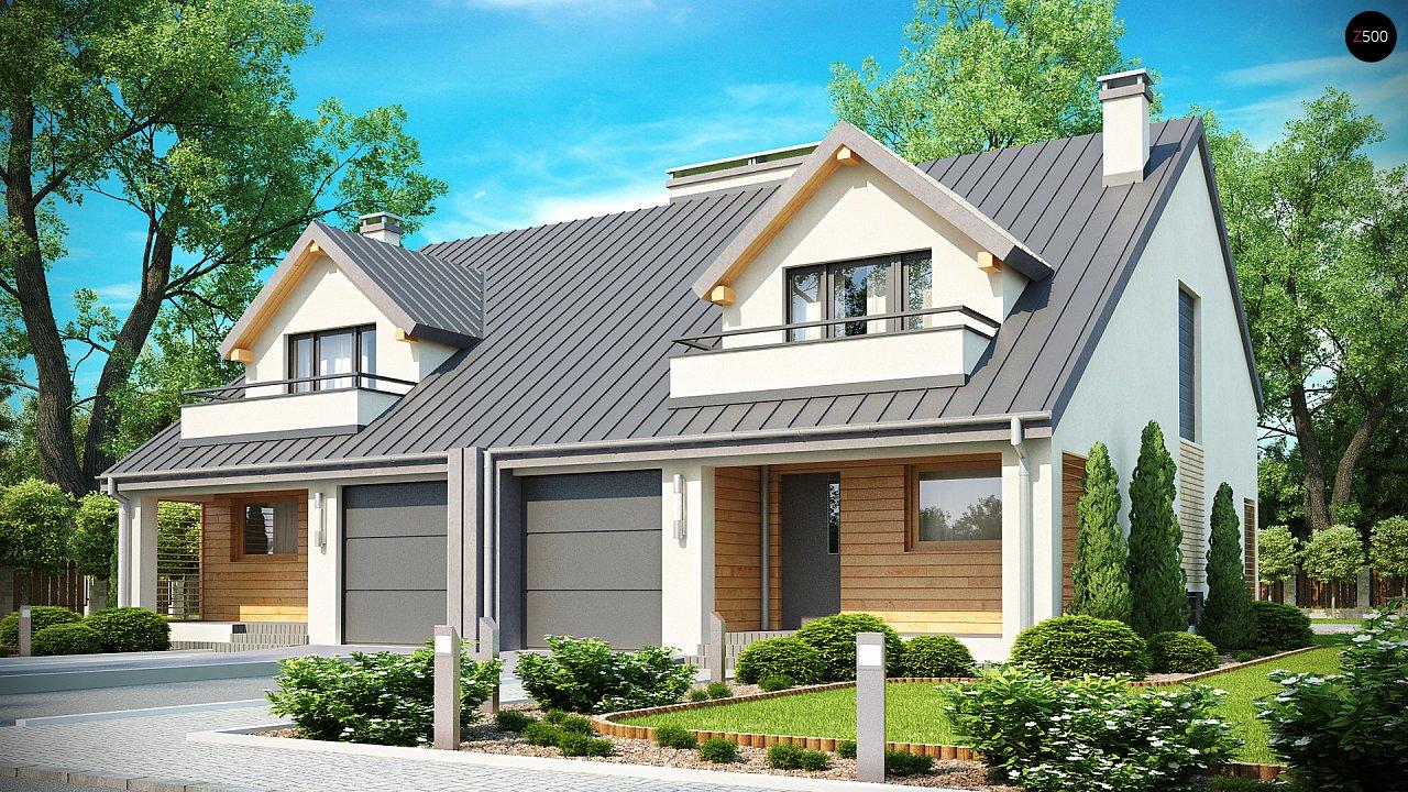 Проект будинку Zb4 - 1