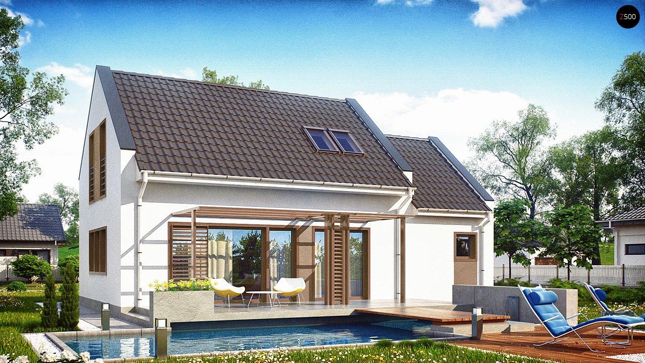 Проект будинку Z217 - 1