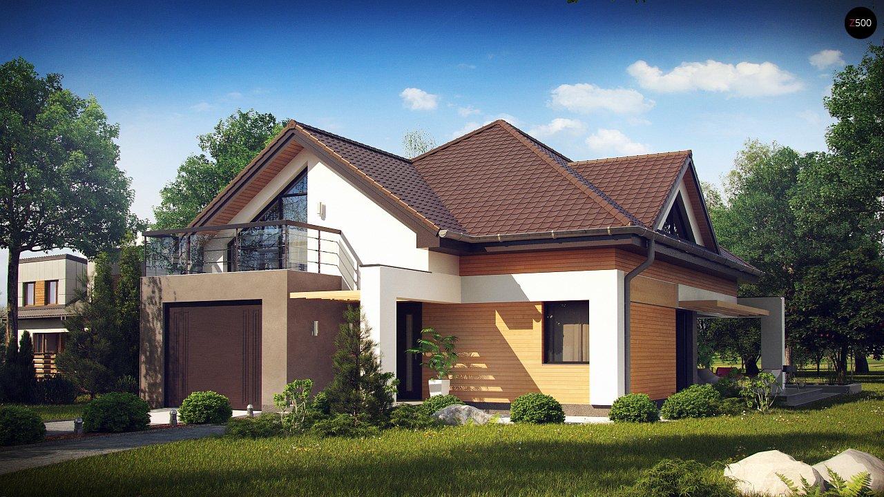 Проект будинку Z288 - 1