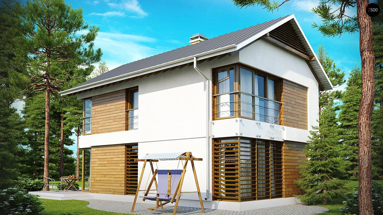 Проект будинку Z155 - 1