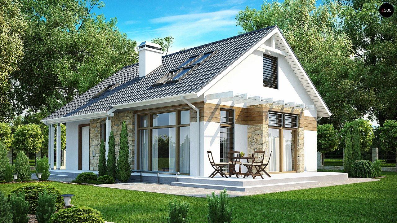 Проект будинку Z113 - 1