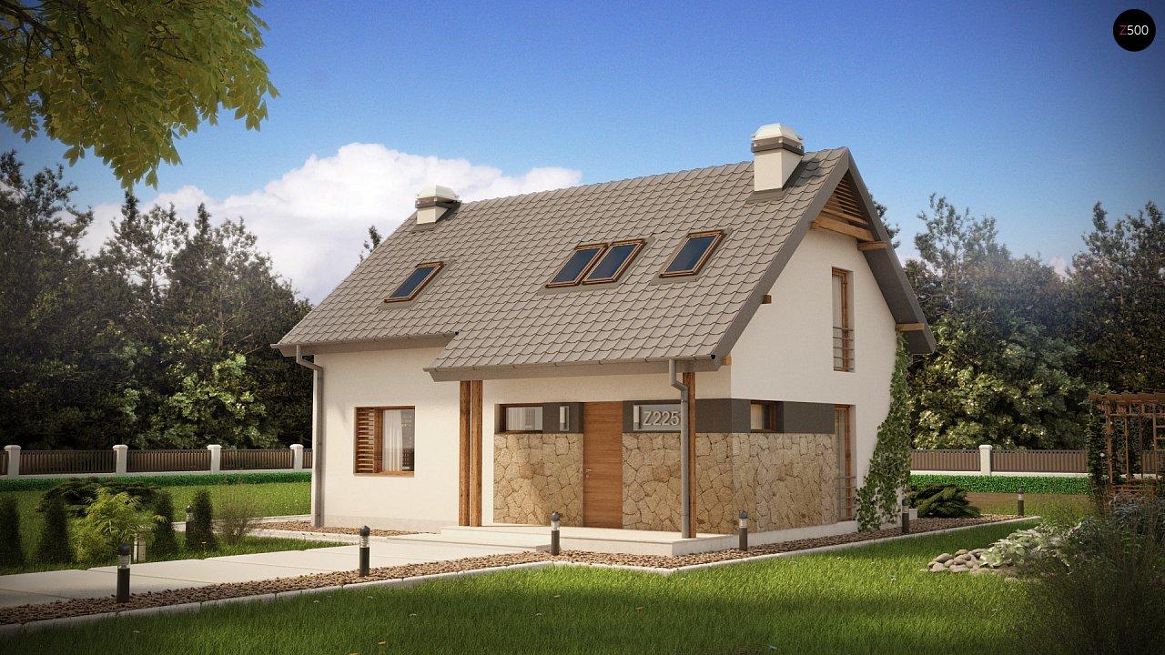 Проект будинку Z225 - 1