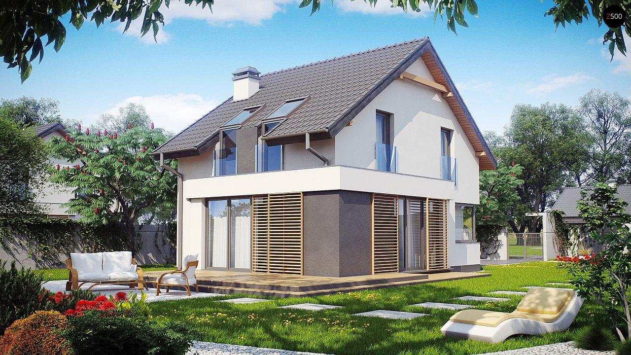 Проект будинку Z290 - 1