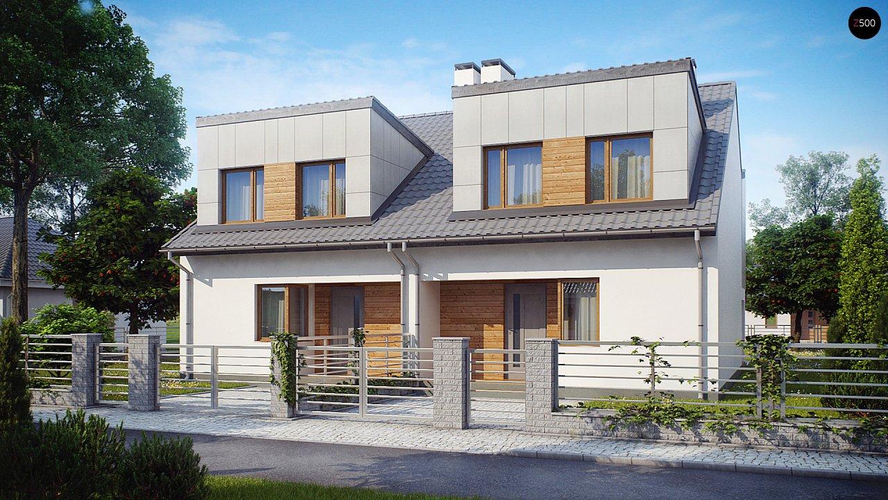 Проект будинку Zb7 - 1
