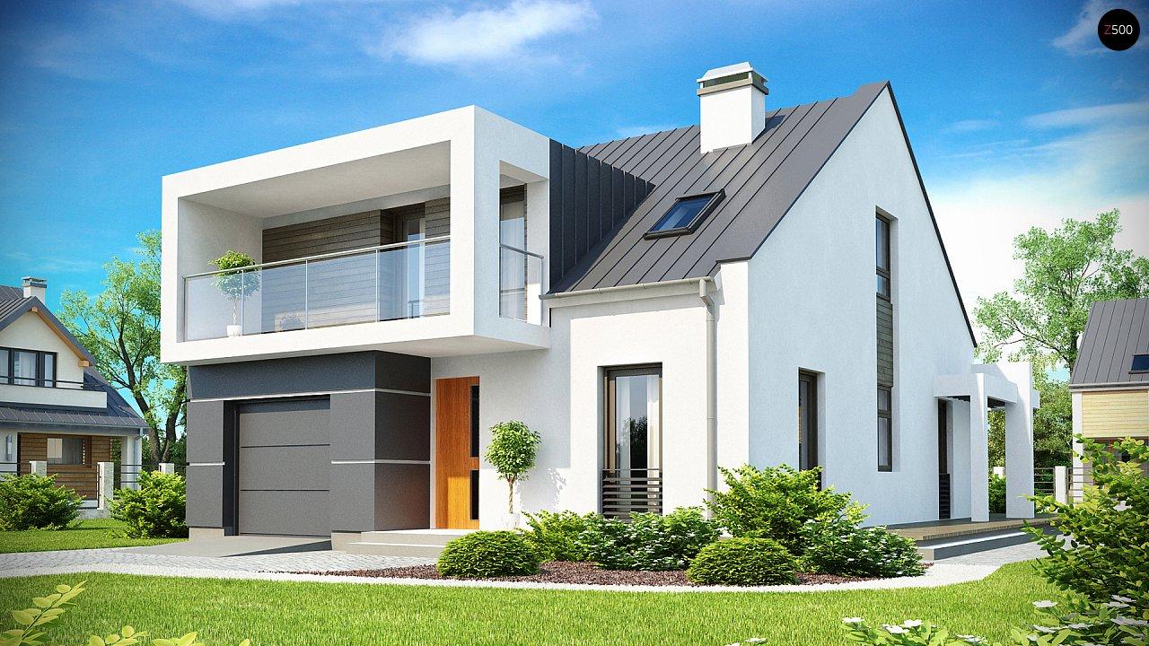 Проект будинку Zx44 - 1