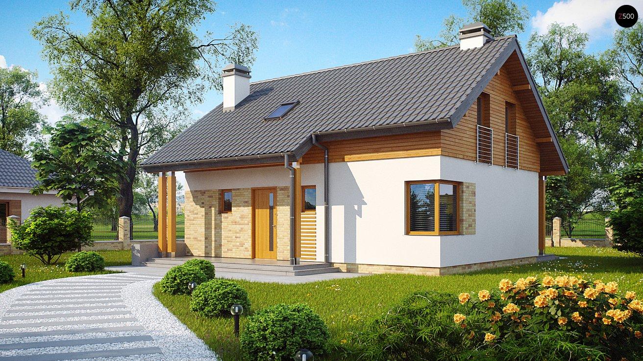 Проект будинку Z210 - 1