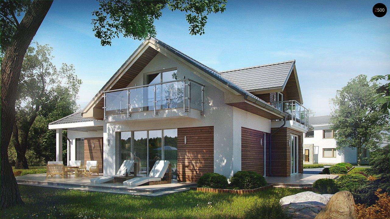 Проект будинку Z275 - 1