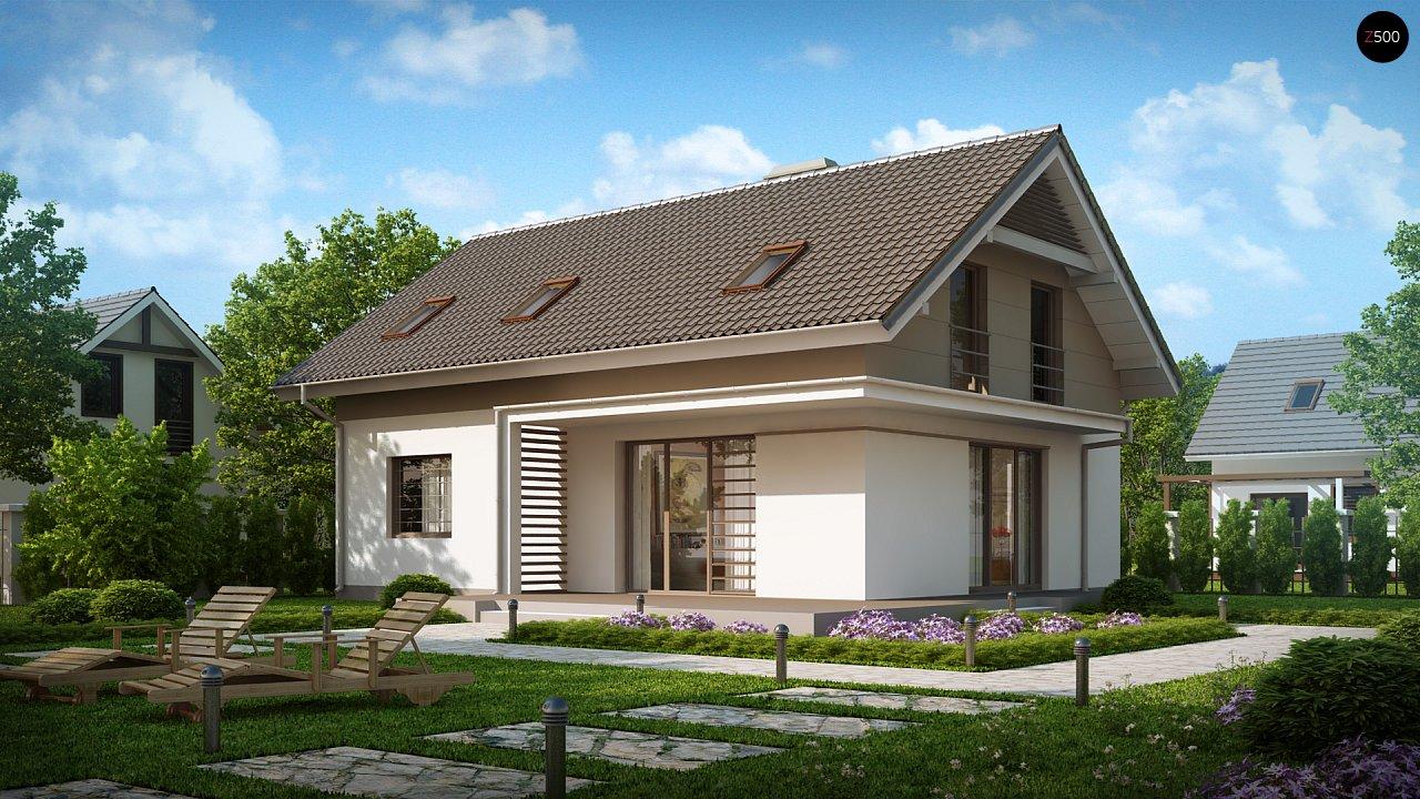 Проект будинку Z244 - 1