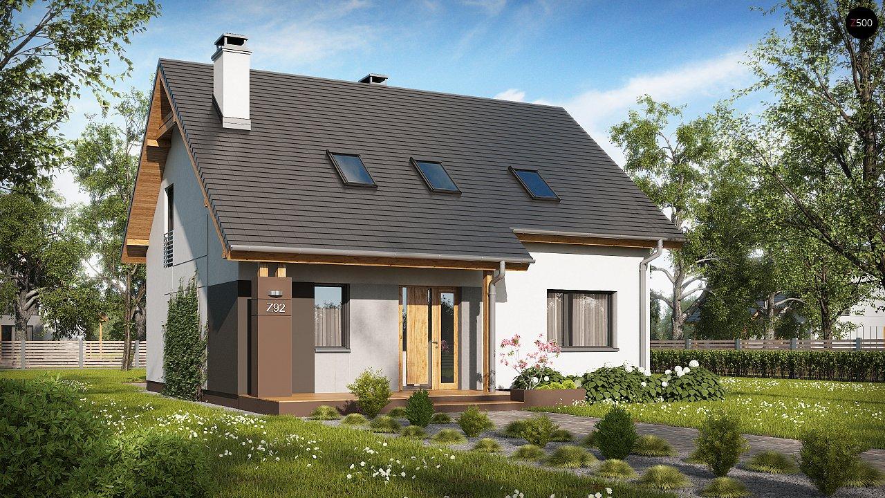 Проект будинку Z92 - 1