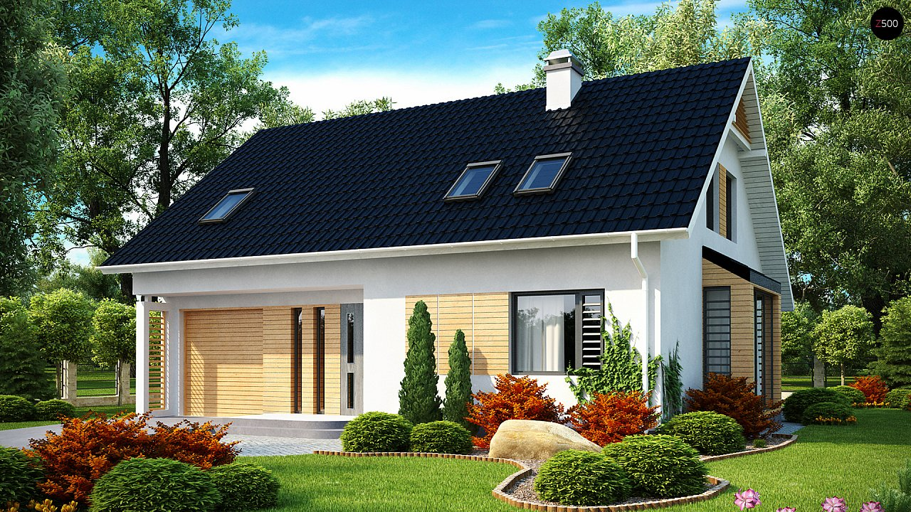 Проект будинку Z124 - 1