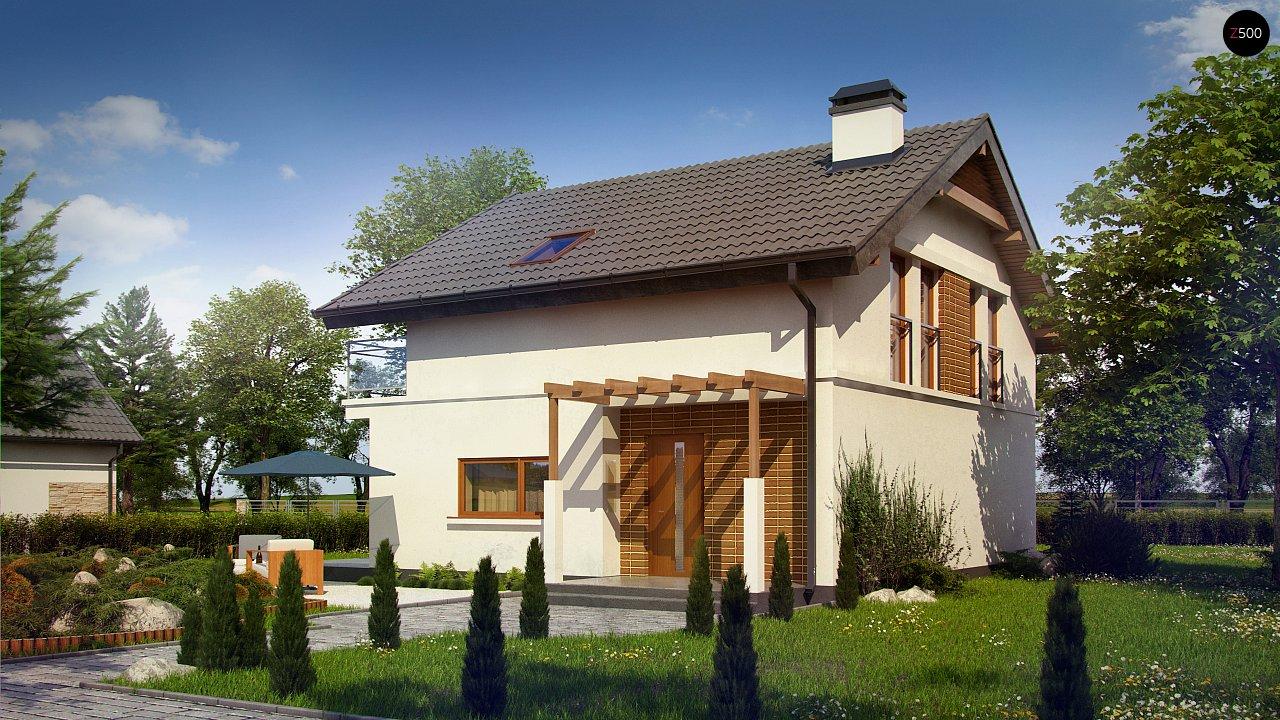 Проект будинку Z248 - 1