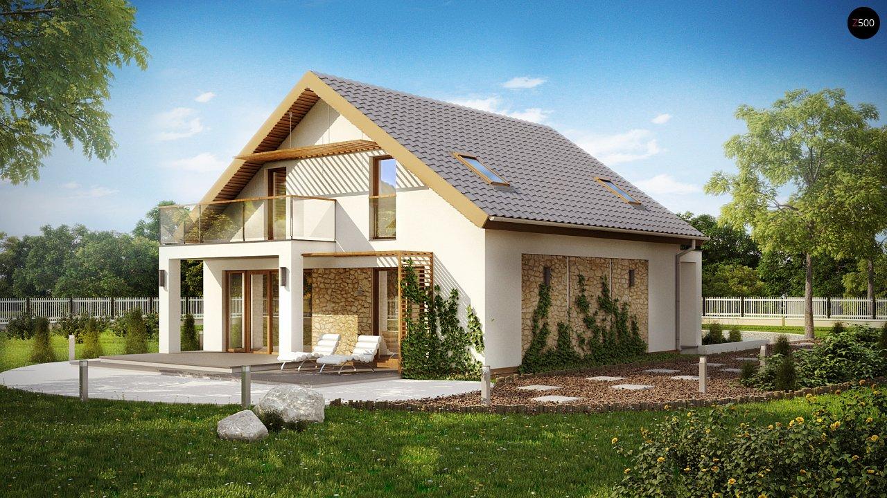 Проект будинку Z224 - 1