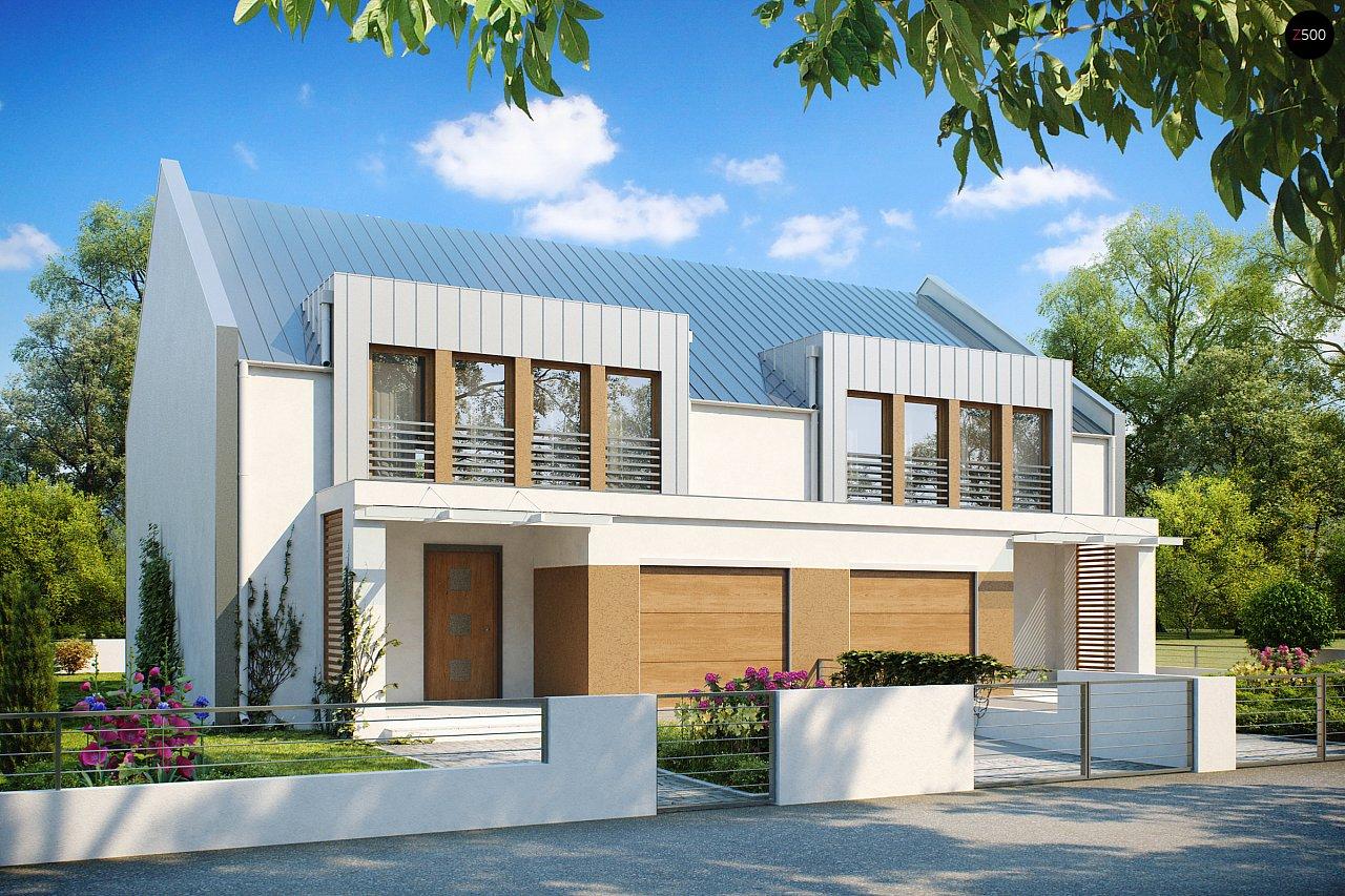 Проект будинку Zb5 - 1