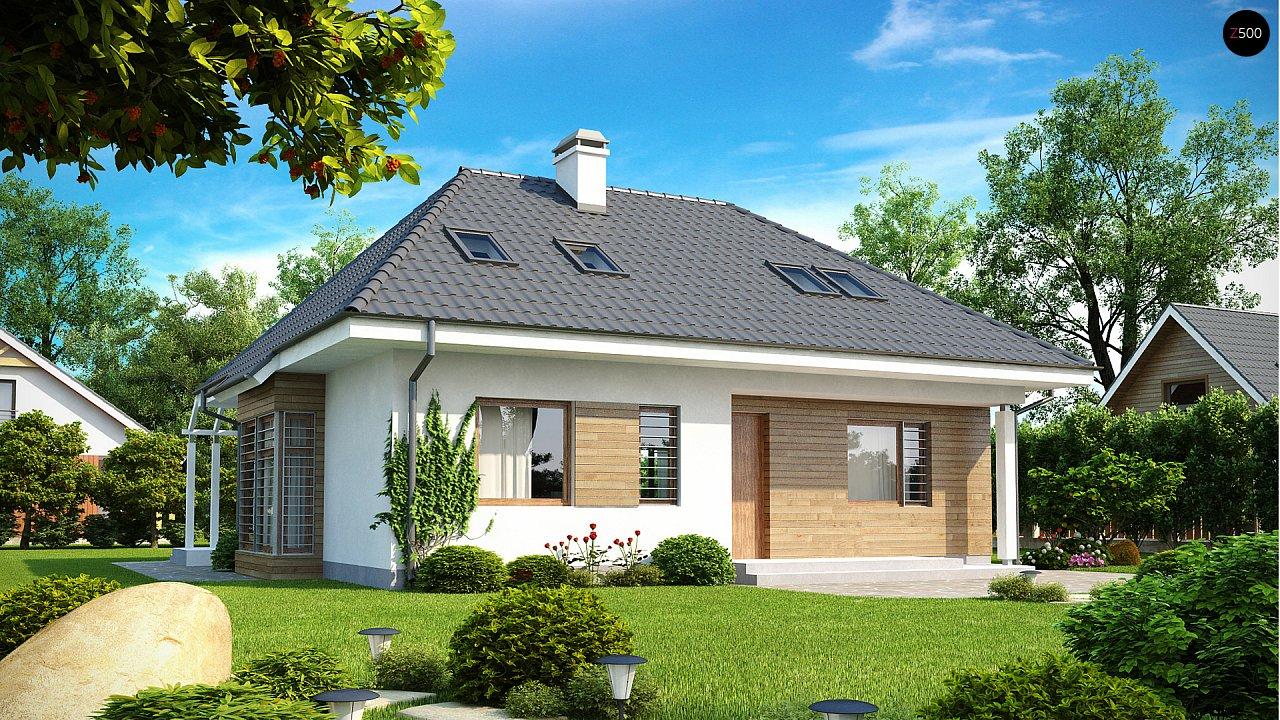 Проект будинку Z104 - 1