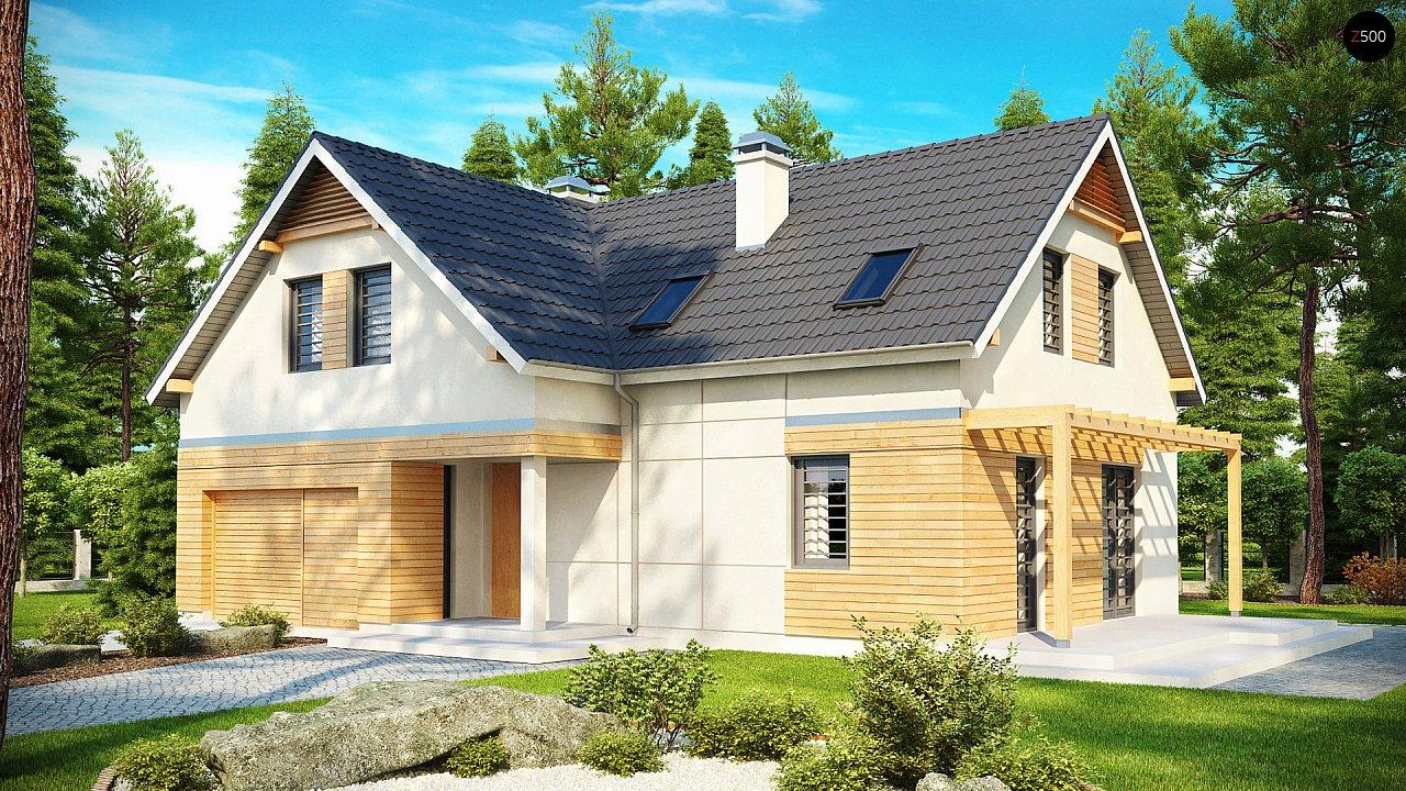 Проект будинку Z125 - 1