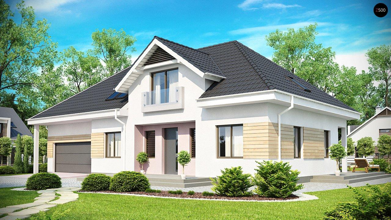 Проект будинку Z171 - 1