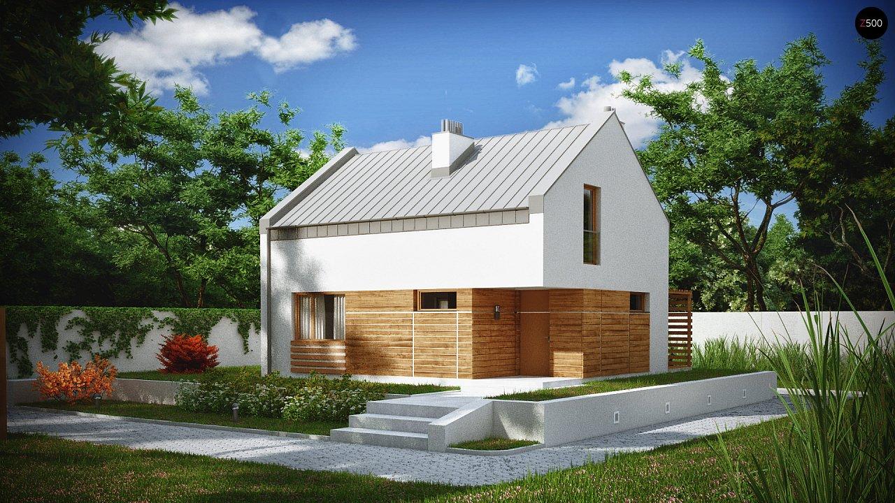 Проект будинку Z229 - 1