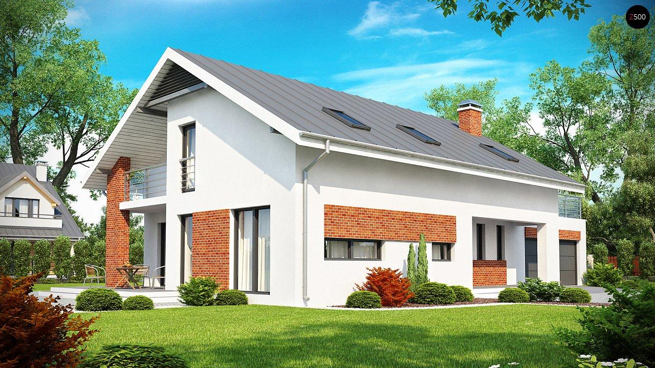 Проект будинку Z161 - 1