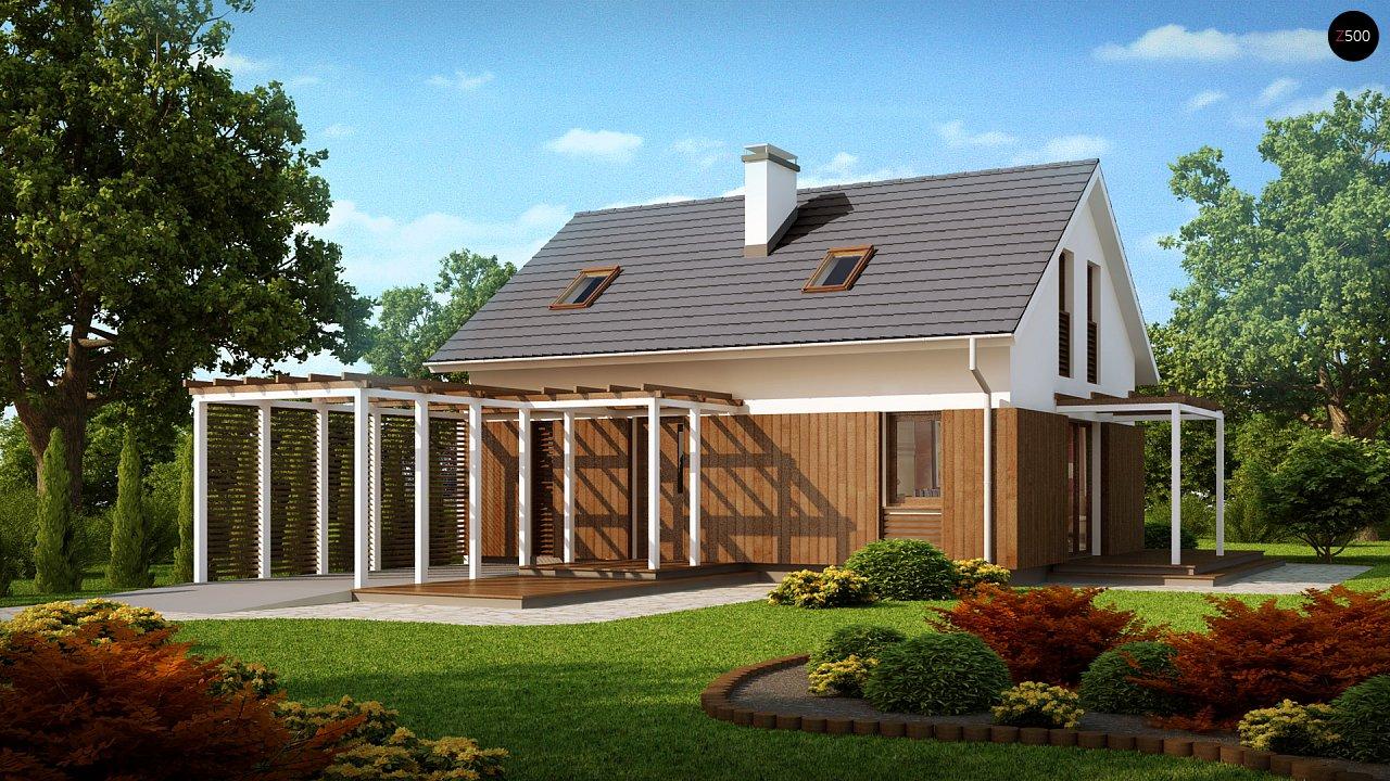 Проект будинку Z213 - 1