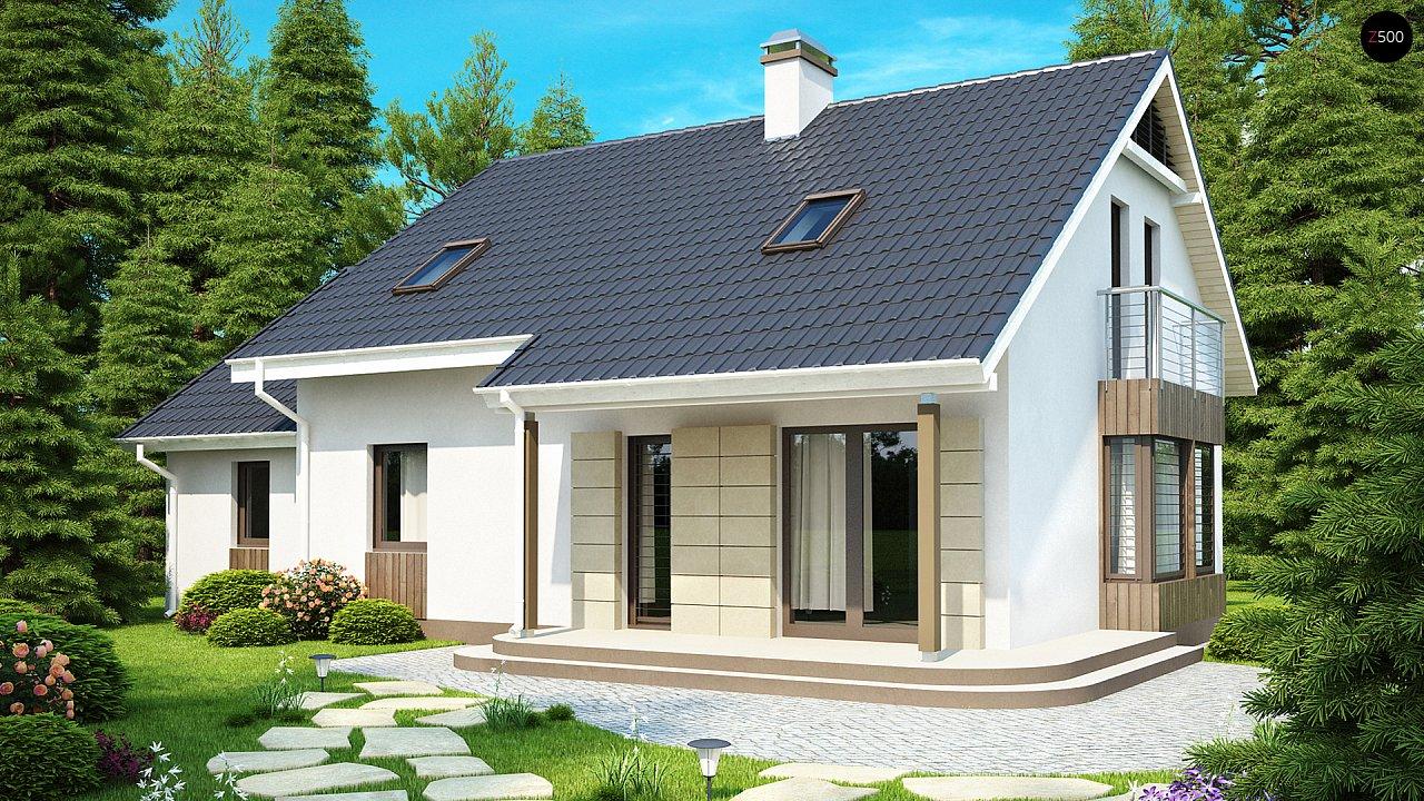 Проект будинку Z120 - 1