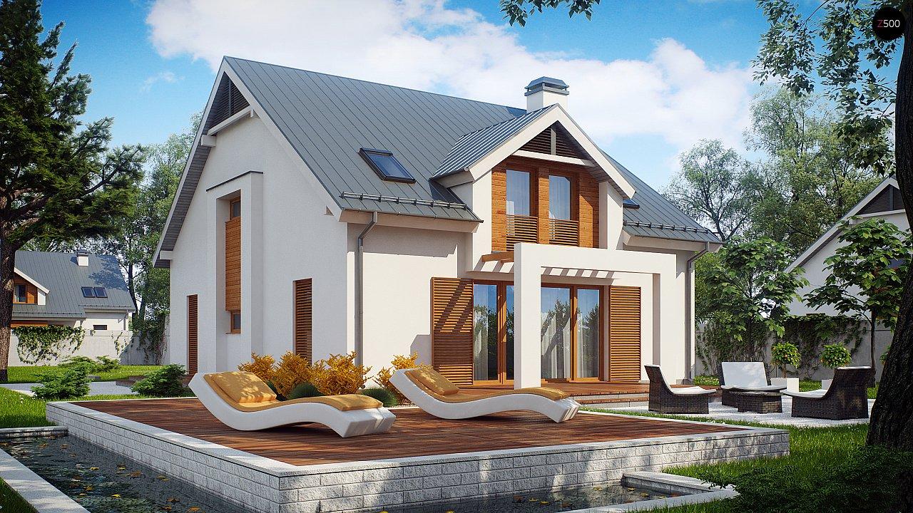 Проект будинку Z246 - 1