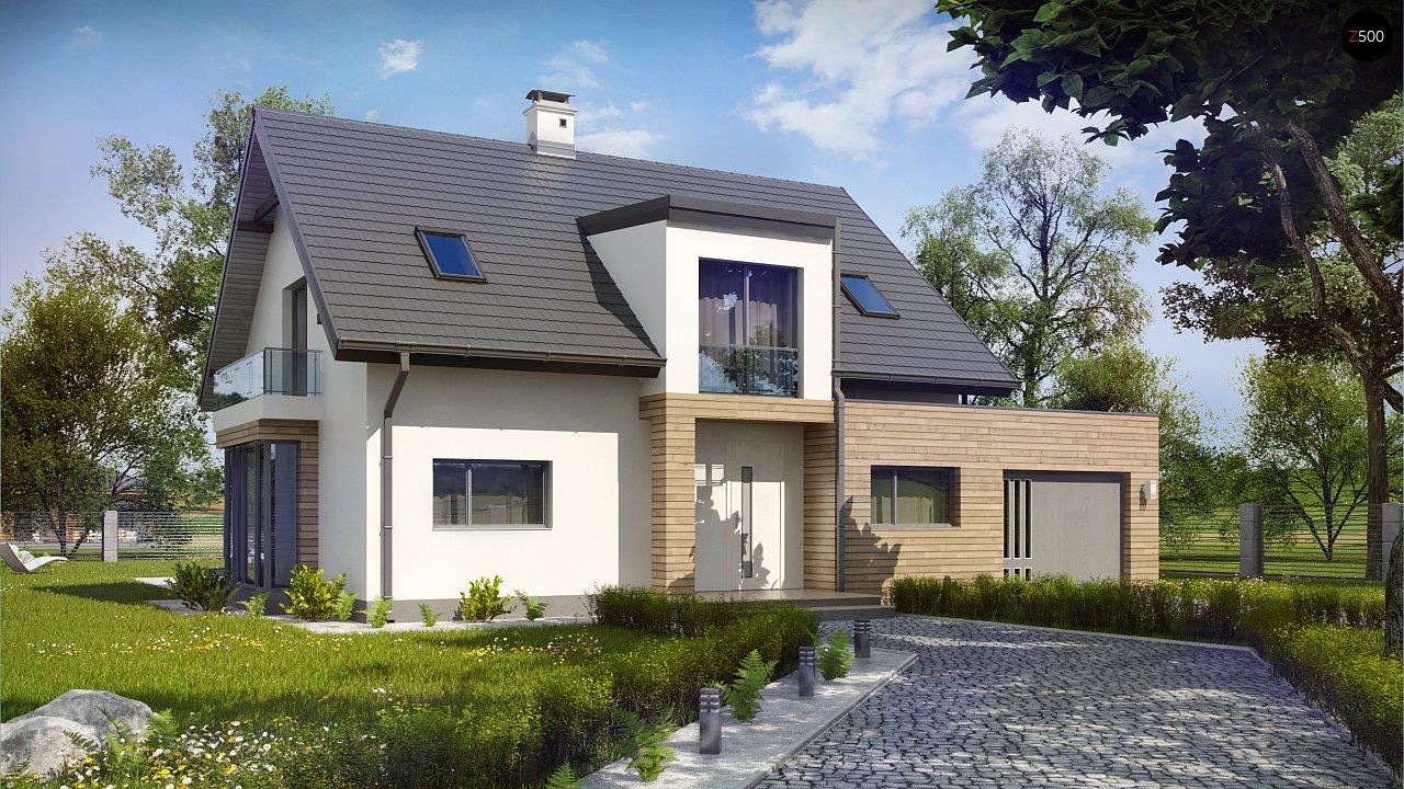 Проект будинку Z189 - 1