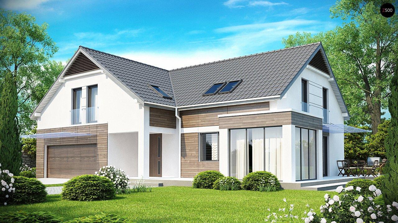 Проект будинку Z138 - 1