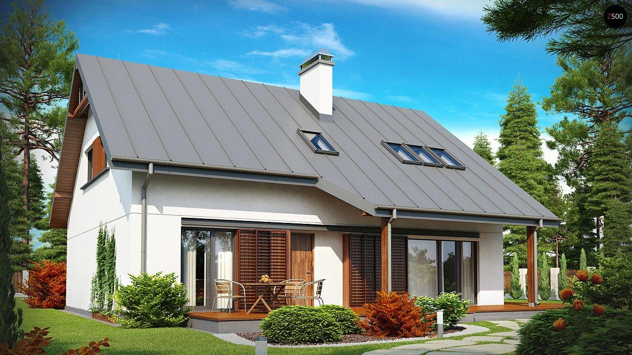 Проект будинку Z186 - 1