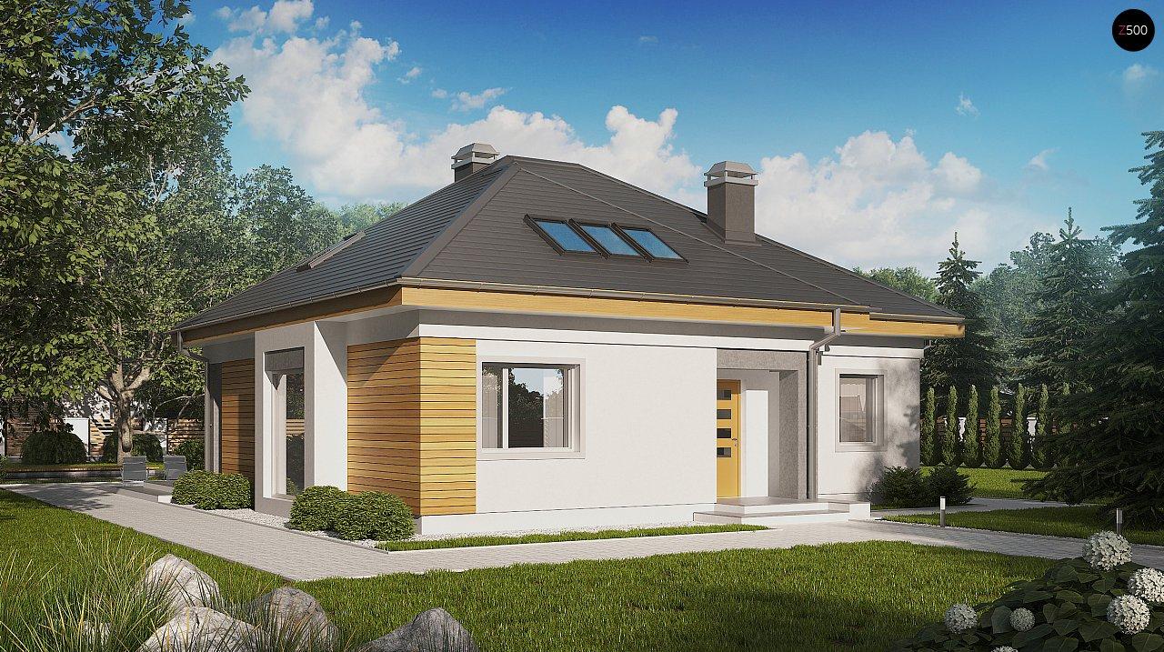 Проект будинку Z54 - 1