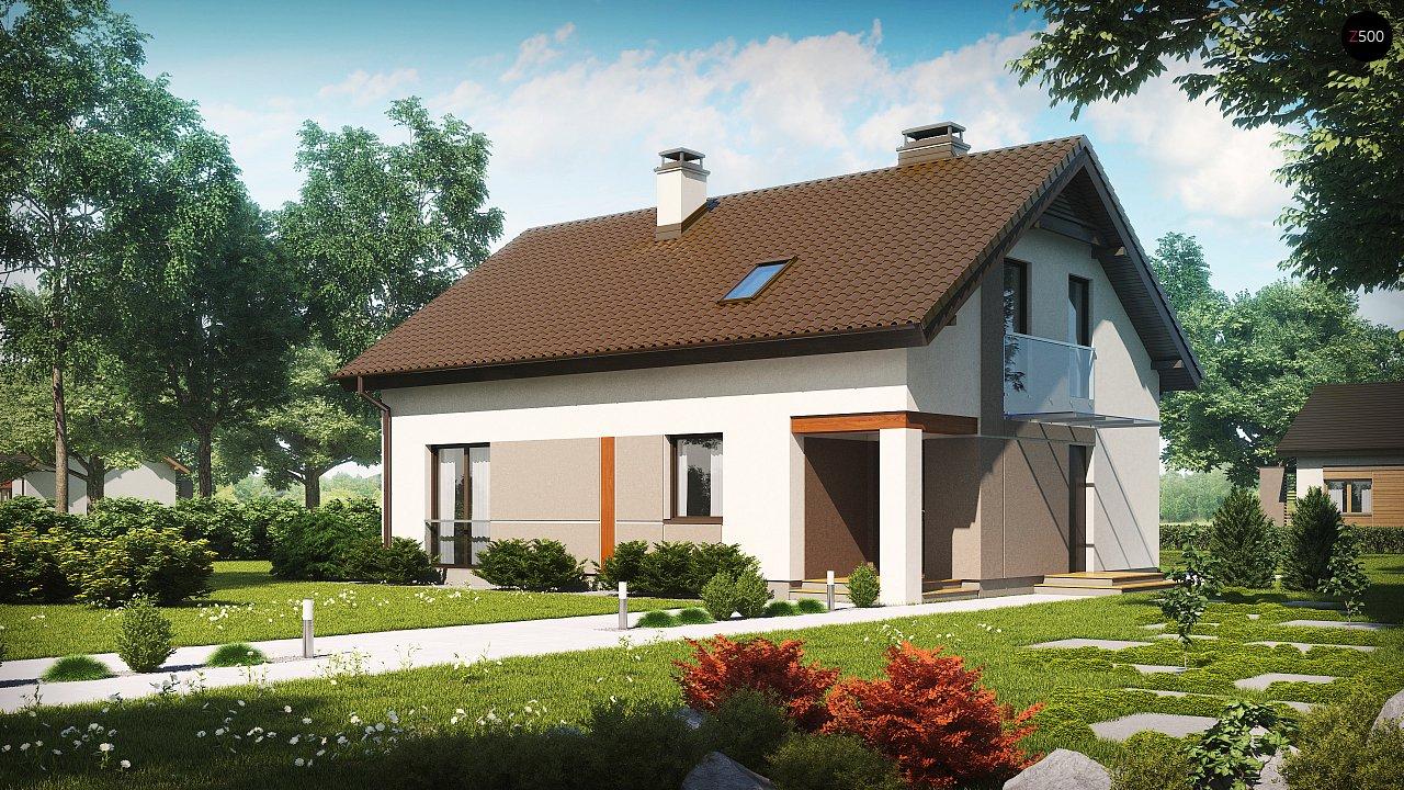 Проект будинку Z228 - 1