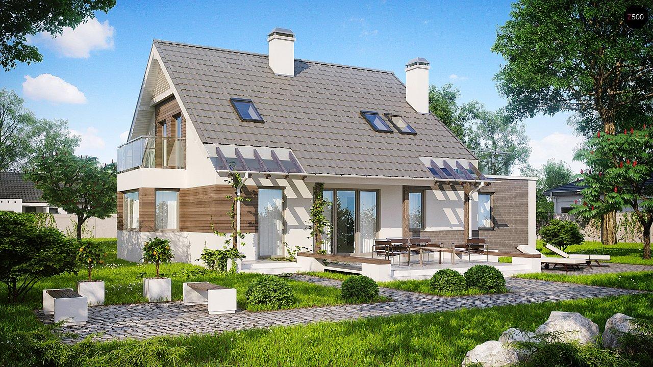 Проект будинку Z231 - 1