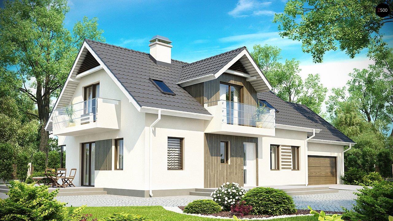 Проект будинку Z175 - 1