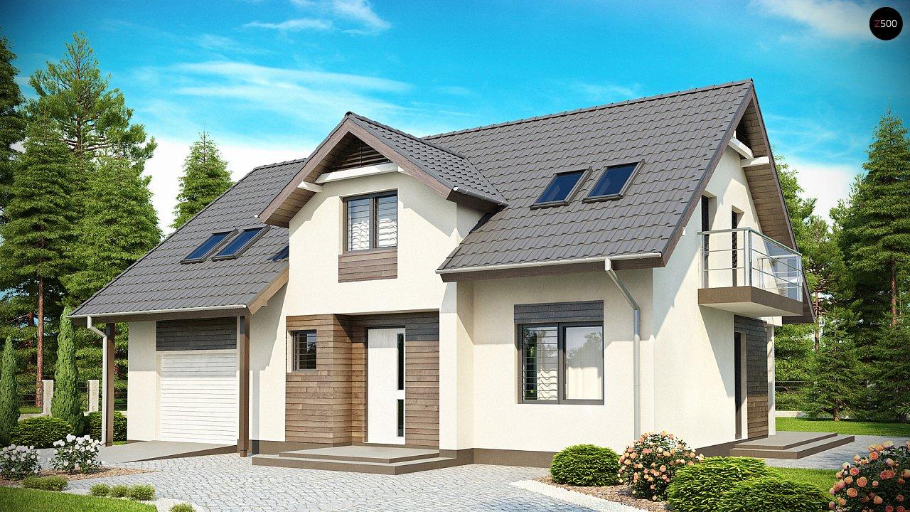 Проект будинку Z172 - 1