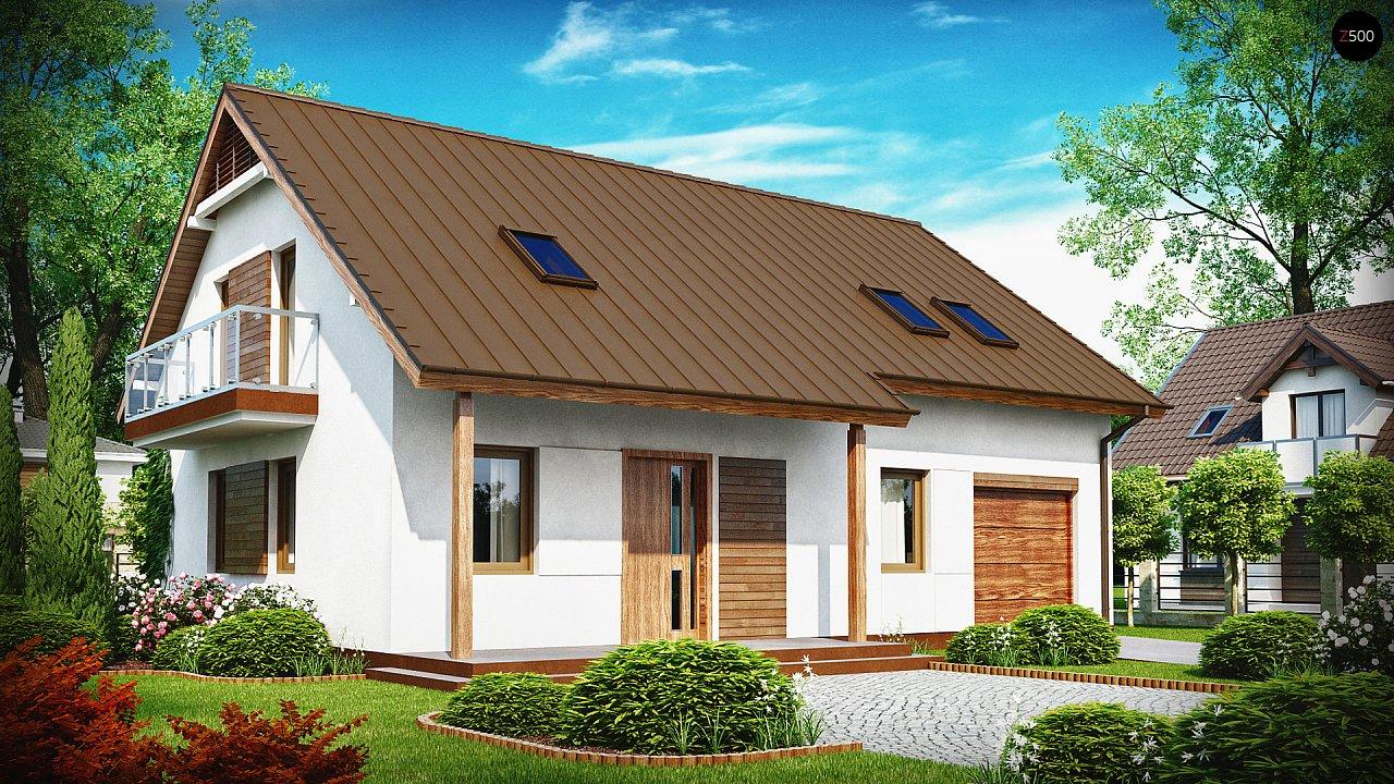 Проект будинку Z133 - 1