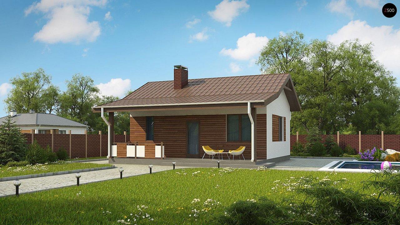 Проект будинку Zp1 - 1
