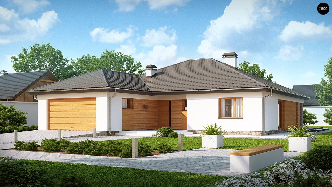 Проект будинку Z199 - 1