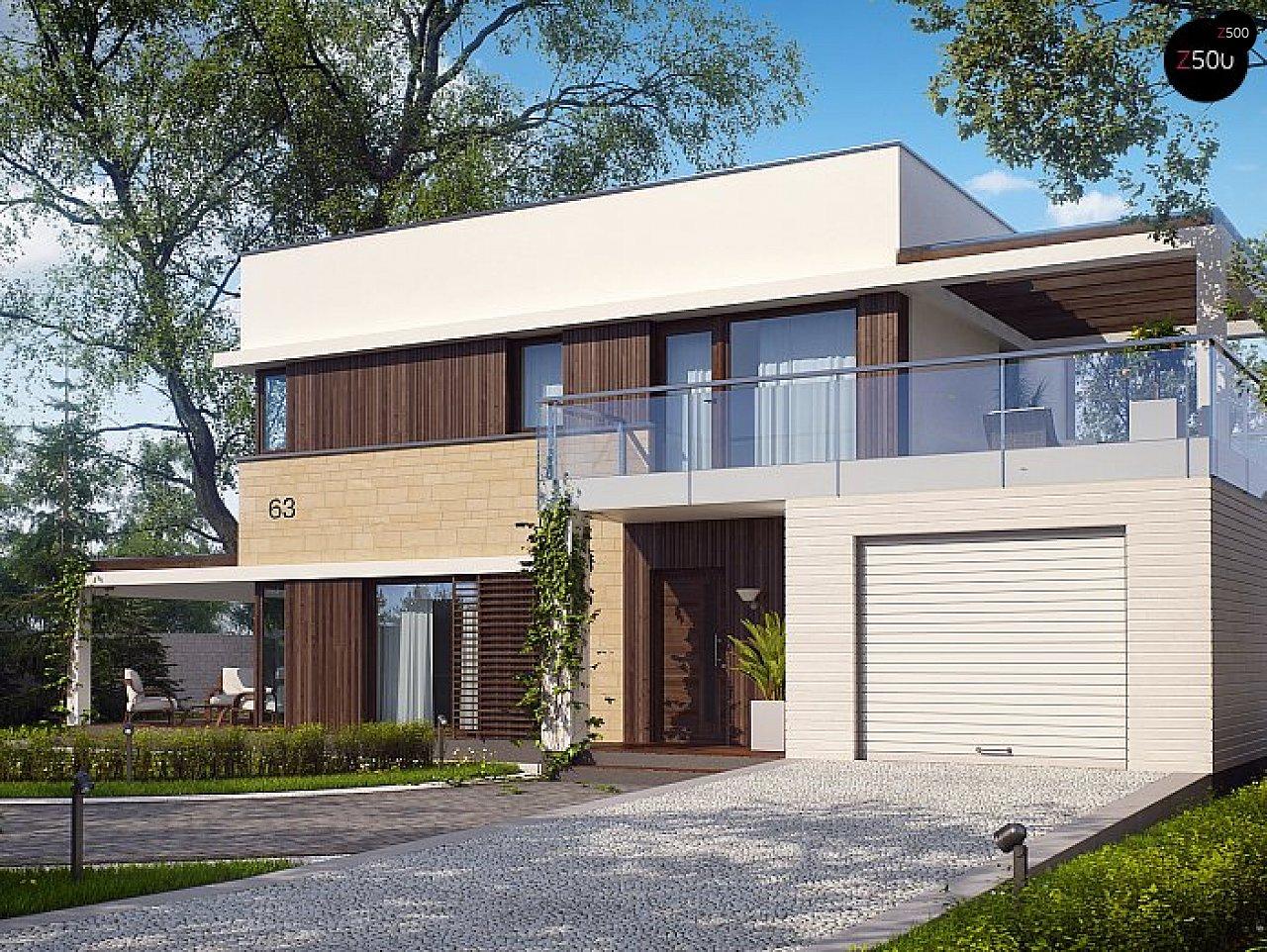 Проект будинку Zx63 s - 1