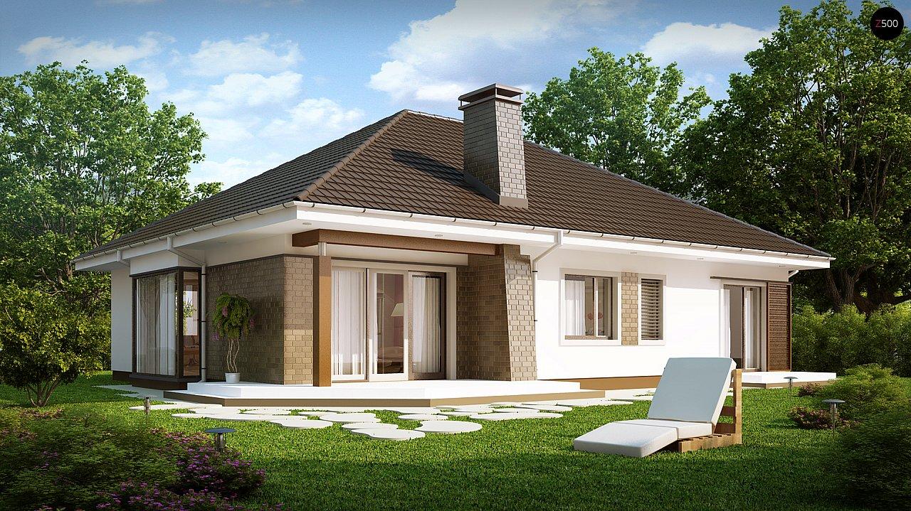 Проект будинку Z205 - 1