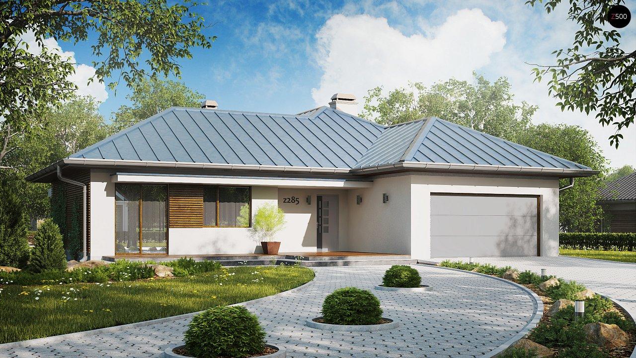 Проект будинку Z285 - 1